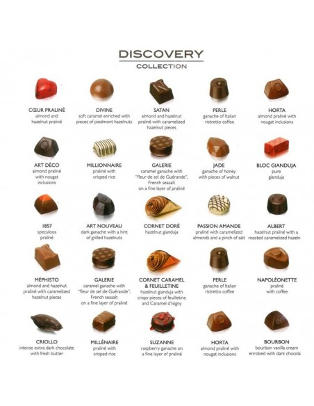 Bombones belgas Discovery Collection