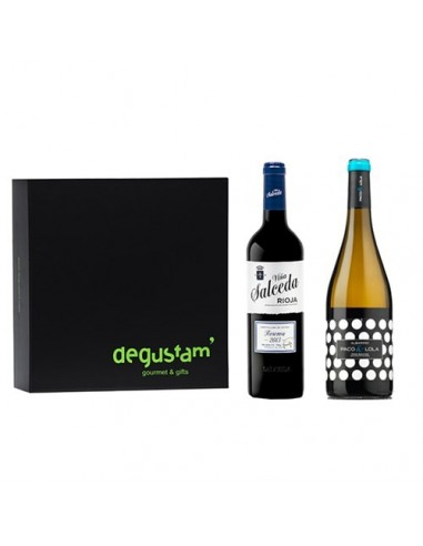 Estuche de Vinos Albariño y Rioja Reserva